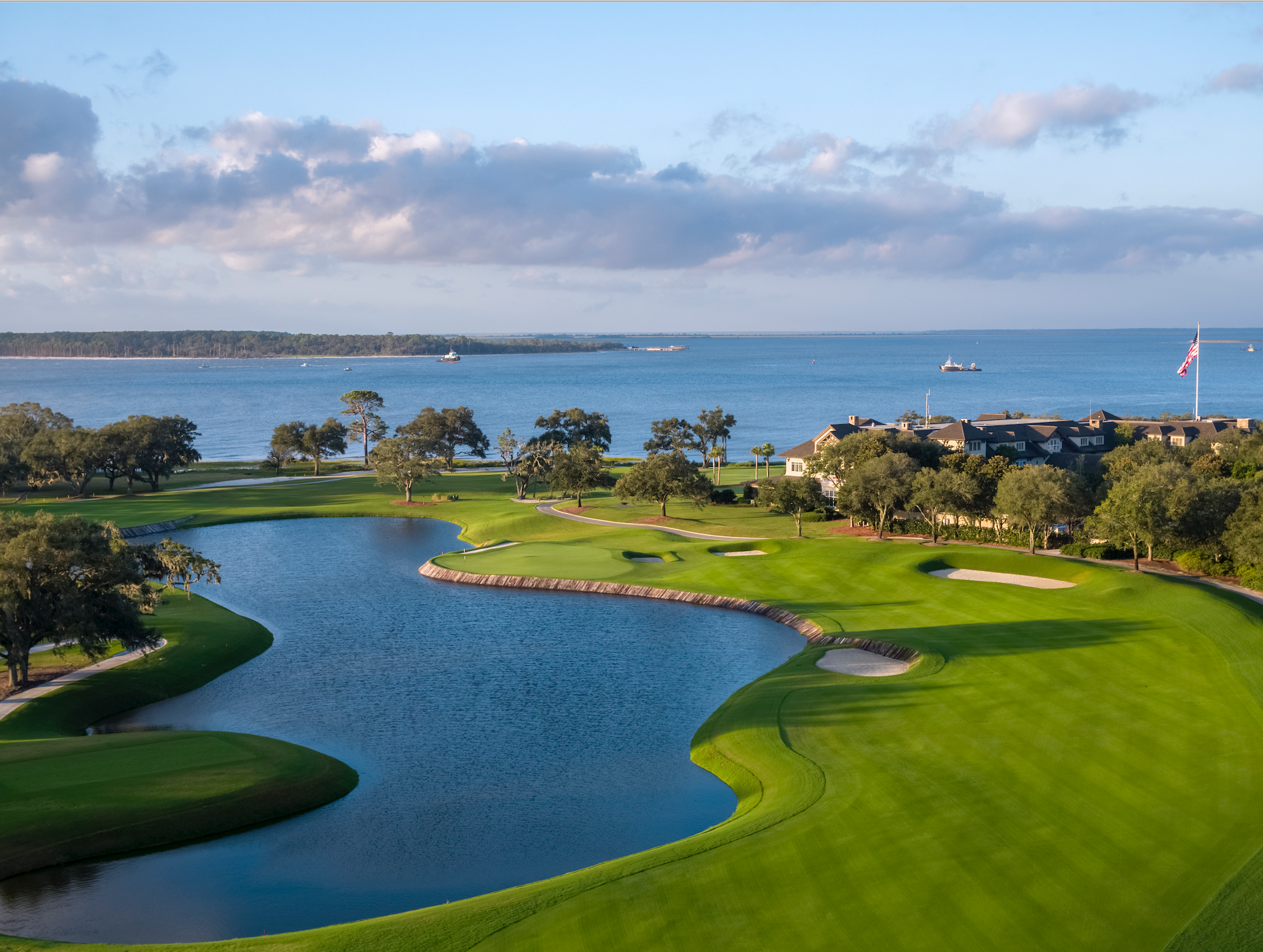 First Place public course 2020 Renovation of the Year winner Plantation Course in Sea Island, Ga.