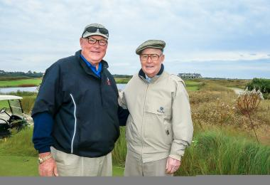 Perry and Pete Dye