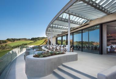 2020 Clubhouse of the Year first place/new public clubhouse winner The Bay Course at Costa Navarino in Messinia, Greece.